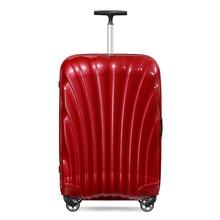 Samsonite/新秀丽 明星同款拉杆箱 专柜经典贝壳箱坚韧轻盈登机箱万向轮行李箱包20/25/28/30英寸 V22 红色 20寸